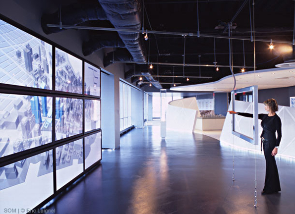 7 WTC MARKETING SUITE NY *In collaboration with Skidmore, Owings & Merrill LLP. Images courtesy of SOM.