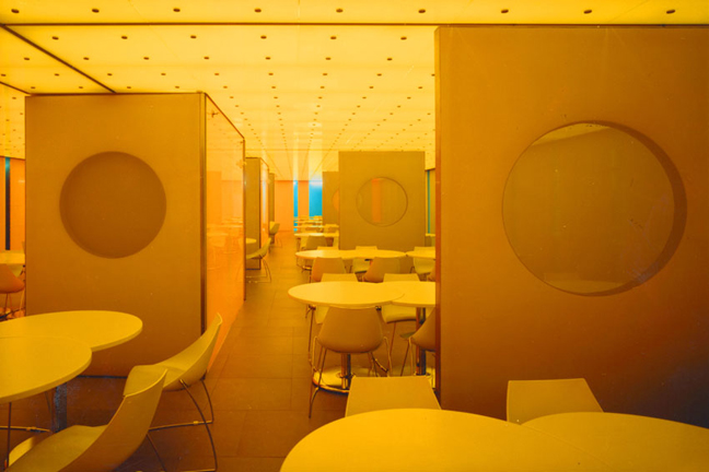 CONDE NAST Cafeteria and Lounge Ny *In collaboration with Skidmore, Owings & Merrill LLP. Images courtesy of SOM.