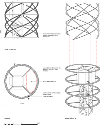 TORRE DE VALENCIA COMPETITION, Madrid 2008. Second Price.  The competition brief called for the design of a