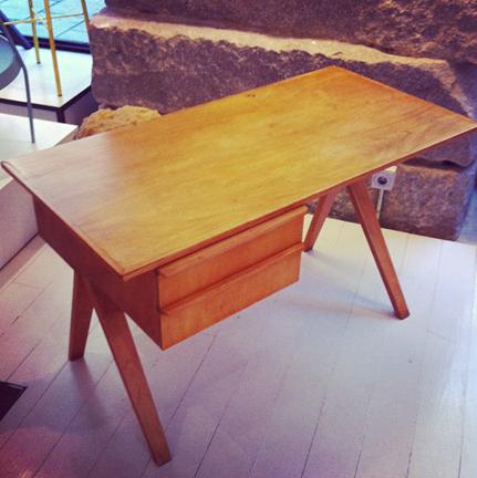 "Cees Braakman ""EB02"" writing desk, c. 1950"