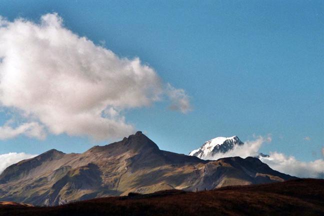 ETH Eidgenössische Technische Hochschule Zurich St. Bernard Alpine Pass    Course work 1994
